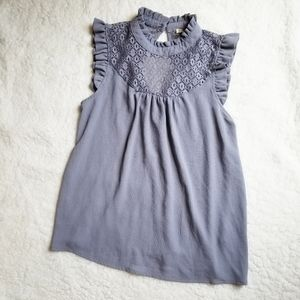 6/$20 Lily White size small tank top
